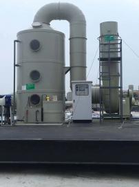 工业废气处理设备-防腐喷淋塔-多功能废气净化塔