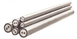 批量供应铠装热电阻电缆 电阻铠装丝 纯镍丝 铠装热电阻