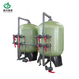 原水除泥沙胶状物质选全自动石英砂过滤器 前置水处理过滤器