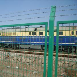 三海 铁路 沿线 防护栅栏