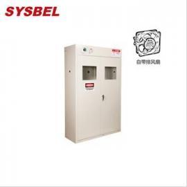 SYSBEL智能型自带风扇三气瓶柜WA710103