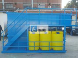 销售5T/D喷漆房喷漆废水处理设备YAPX-5000L运行稳定出水达标