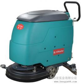 工业多功能洗地机全自动工厂擦地机商用刷地机电动手推式清洗机