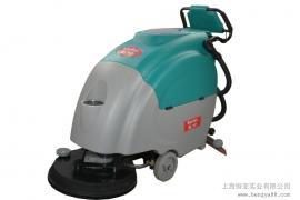 自走全自动洗地机手扶式大容量水箱24V高效率吸水吸干机