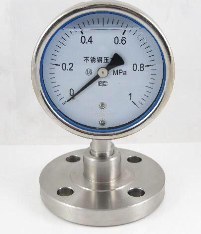 全不锈钢压力表 轴向压力表/径向压力表 全系列不锈钢