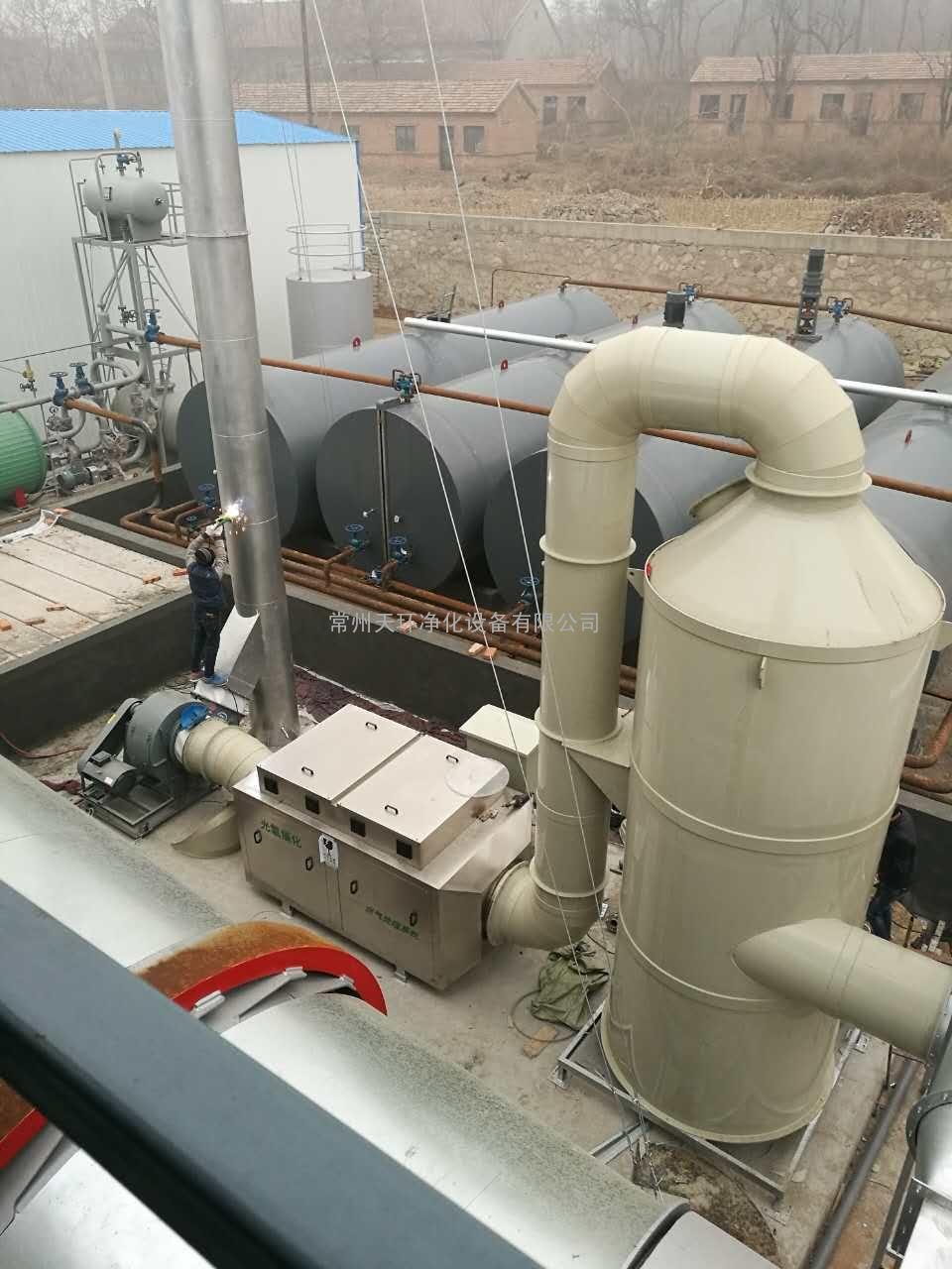 活性炭吸附塔废气处理设备原理更多详情