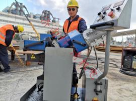 GMMA-100L型倒角破口机/产品优势和应用