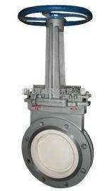 PZ73TC 手动薄型排渣浆液阀