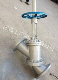 JS45Y-16C手动Y型料浆阀