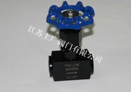 高压内螺纹针型阀J13H-6000PSI