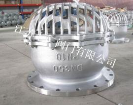 不锈钢法兰底阀H42X-10P