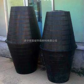 新农村旱厕改造专用双瓮化粪池双翁式塑料化粪池PE材质现货