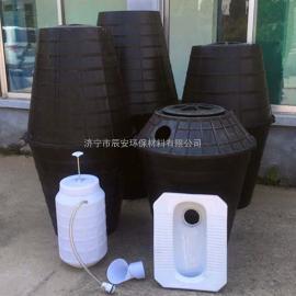 农村厕所改造专用双瓮化粪池双翁式塑料化粪池PE材质厂家直销
