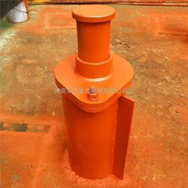 HT2型底座焊接式弹簧缓冲器 起重机弹簧缓冲器 行车碰头