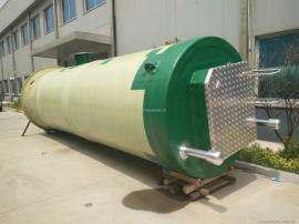一体化泵站 污水提升设备 玻璃钢一体化泵站粉碎格栅 厂家直销