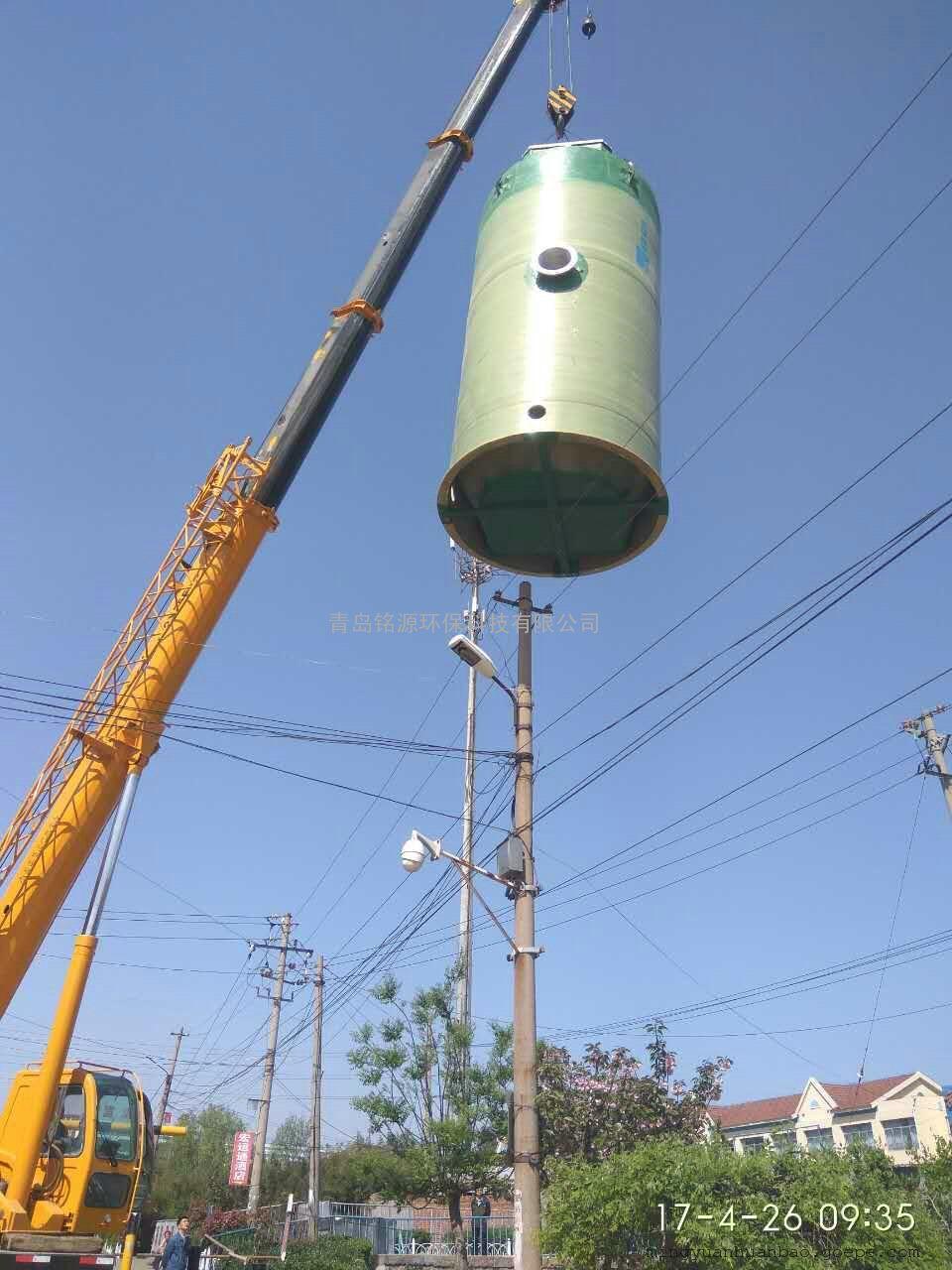 玻璃钢一体化供水泵站选铭源厂家直销