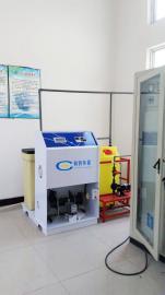 在线电解盐消毒设备/泳池次氯酸钠发生器