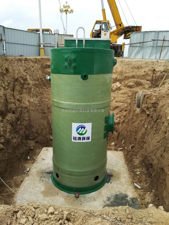 污水提升泵站选铭源环保 质量过硬 诚信经营