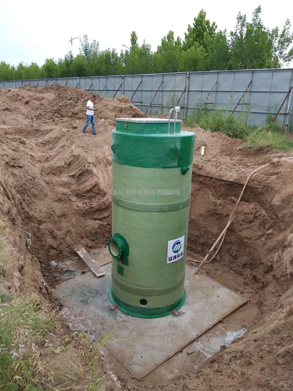 玻璃钢一体化供水泵站 选铭源环保性价比高