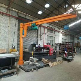 优质360度旋转电动悬臂吊 机床仓库用2吨悬臂吊 悬臂式起重机