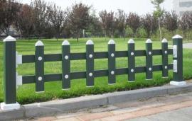 PVC塑钢护栏 绿化园林草坪公园花坛围栏围挡栅栏公路塑料隔离栏