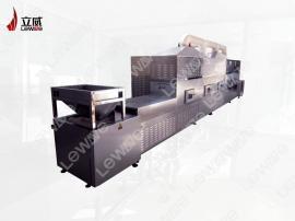 小米微波烘焙设备,小米熟化机