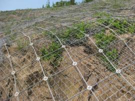 钢丝绳网防坠网主动防护网被动防护网护坡网柔性SNS边坡防护网