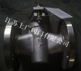 不锈钢衬氟旋塞阀X43F46-10P