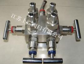 不锈钢五阀组针型阀WF-3