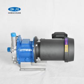 泓川不�P�磁力泵��嵊捅� 耐高�厮�泵 微型220v高�乇�