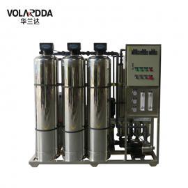 食品加工厂用纯净水设备 晨兴直供1T/H全自动不锈钢反渗透设备