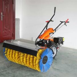 手推除雪机适用塑胶操场 小型扫雪机坚固耐用