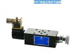 精机缓冲阀NORTHMAN北部精机叠加式电控节流阀MST-03T-I-D24-10