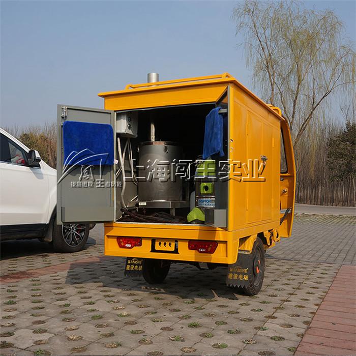 闯王柴油版三轮车上门移动蒸汽洗车机前景怎么样