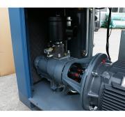 大城塑料生产选择开山永磁变频螺杆空压机37千瓦气量足够省电