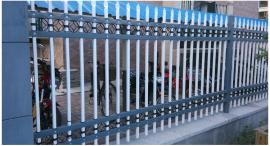锌钢围栏铁艺护栏围栏热镀锌护栏施工防护栏别墅栏杆小区栅栏