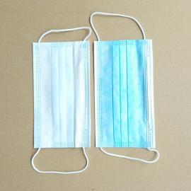 蓝色三层放沙尘口罩 锐辉一次性无纺布口罩