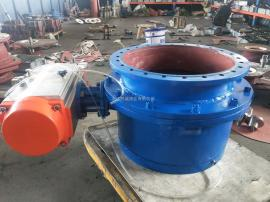 YDF-B-DN300变DN400气动圆顶阀
