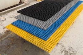 玻璃钢格栅洗车房排水沟盖板树池篦子塑料拼接格栅地沟网格板