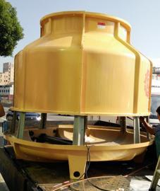 菱科60T冷却塔 低噪音冷却塔 环保冷却塔