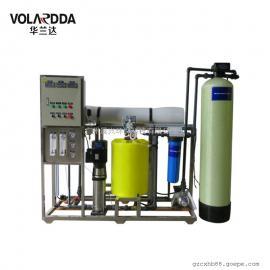 定制型1T/HRO反渗透纯净水设备 塑料加工厂用去离子纯水装置