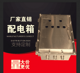 BZC51-304不锈钢防爆操作箱控制箱室外挂式防爆按钮箱