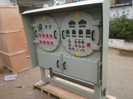 BXMD-9K油罐区柜式防爆检修配电箱铝合金材质油泵磁力控制
