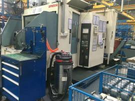 工业桶式吸尘器 保洁用干湿两用吸尘机 工厂大功率集�m�C