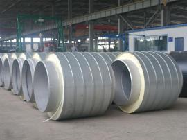 219架空式 聚氨酯镀锌铁皮保温管