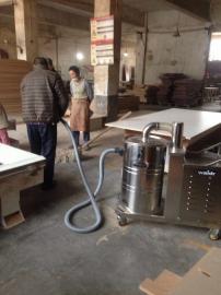 桶式大功率工业吸尘器车间分离式集尘机