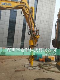 挖改钻机 挖掘机改潜孔钻机 矿山隧道建筑施工 专用设备