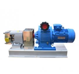 申银机械LQ3A不锈钢转子泵生产厂家 高粘度胶体输送泵