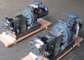 LQ3A-20防爆不锈钢转子泵 移动式凸轮转子泵(304/316/316L)