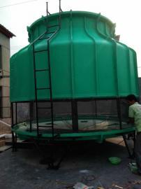 冷却塔厂家圆形冷却塔 玻璃钢逆流式冷却塔